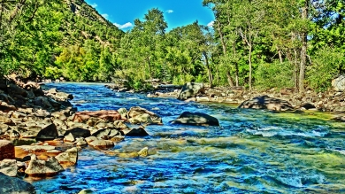 The Crystal River, near Redstone, Colorado