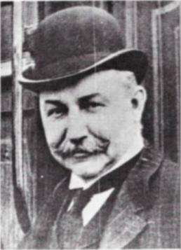 John C Osgood, newspaper photo