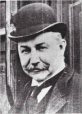 John C. Osgood, newspaper photo