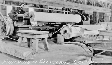 Yule Marble Quarry, 1910, Cleavland Column