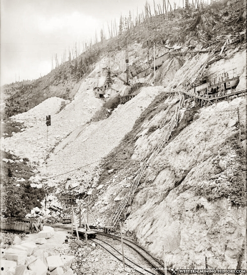 Yule Marble Quarry, 1913 (2)