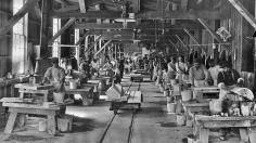 Yule Marble Quarry, 1913 hand polishing plant (3)