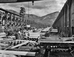 Yule Marble Quarry, 1913 sorting yard (2)