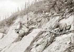 Yule Marble Quarry, 1913