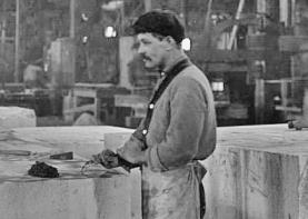 Yule Marble Quarry, 1915 finishing plant