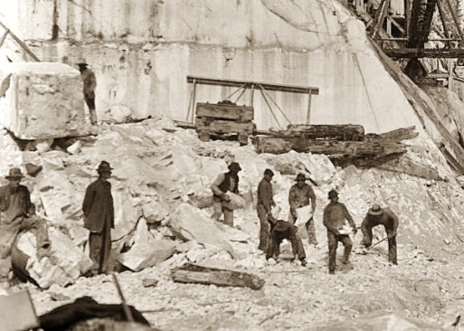 Yule Marble Quarry, 1915
