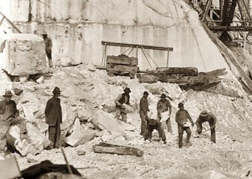 Yule Marble Quarry, 1915