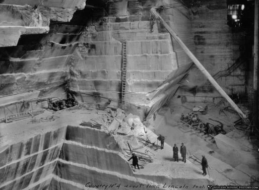 Yule Marble Quarry, 1924 (2)