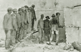 Yule Marble Quarry Cutting Marble, historical (2)
