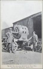 John C Osgood or Channing Meek, Marble, Colorado, 900 kilowat generator (2)
