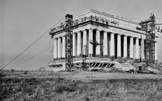 Lincoln Memorial, construction zone 3