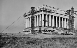 Lincoln Memorial, construction zone 3