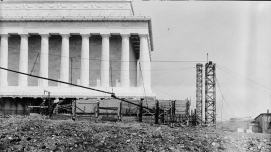 Lincoln Memorial, construction zone 4
