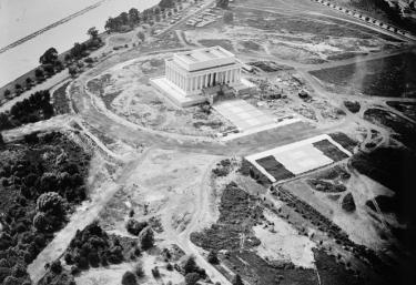 Lincoln Memorial, construction zone 5