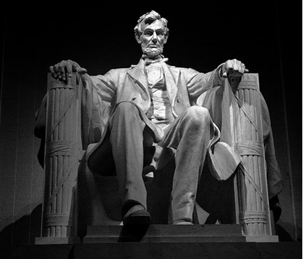Lincoln Memorial, finished item, statue