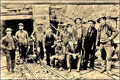 Miners, Bell Island miners-group