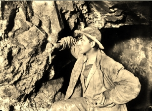Miners, Geevor Tin Mine, explosives and fuses (2)