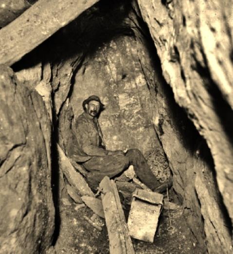 Miners, Geevor Tin Mine, underground exploration (2)