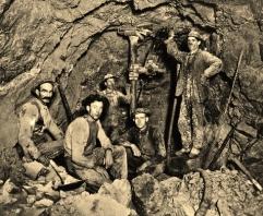 Miners, Sierra Silver Mine, Wallace, Idaho