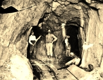 James E. Bailey at the Good Morning Mine