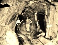 James E. Bailey at the Good Morning Mine