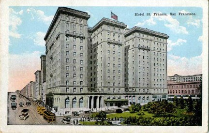 San Francisco, Saint Francis Hotel
