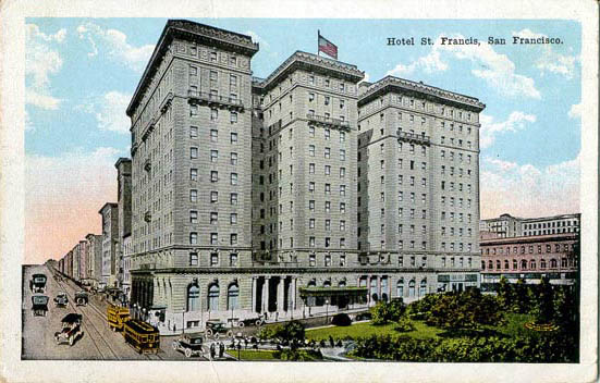 Saint Francis Hotel, San Francisco, California