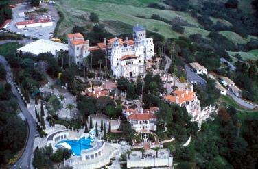 Hearst Mansion, San Simenon, California