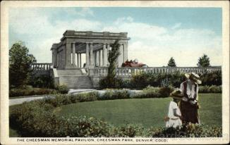 Denver, Cheesman Memorial Pavilion, Cheesman Park Denver