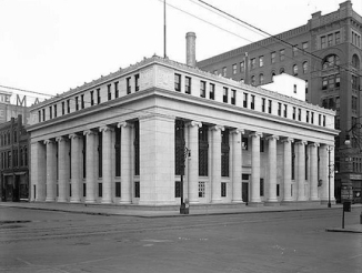 Denver, Colorado National Bank, exterior