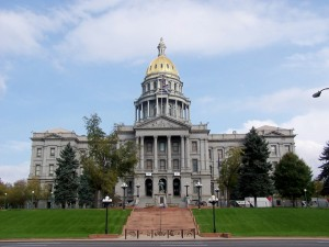 Denver, State Capitol Building, entrance