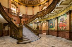 Denver, State Capitol Building, interior staircase