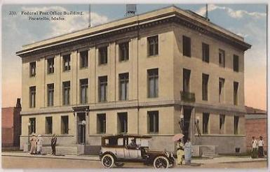 Post Office, Pocatello, Idaho