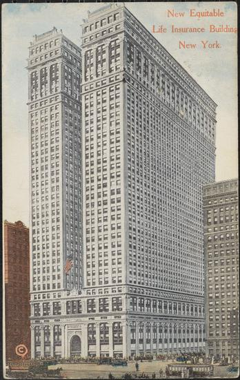 Equitable Life Building, New York City, NY