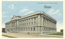Ohio, Cleveland, Cuyahoga County Courthouse