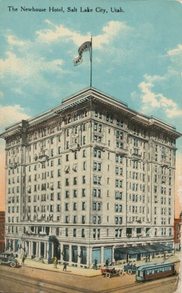 Newhouse Hotel, Salt Lake City, Utah