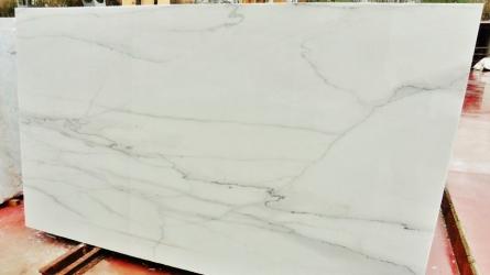 Calacatta Lincoln Slab2, Colorado Yule Marble