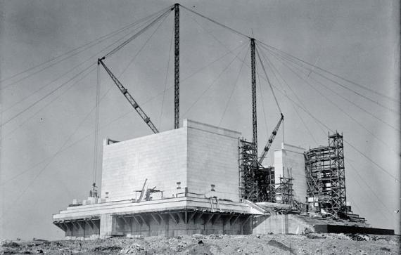 Lincoln Memorial Construction3