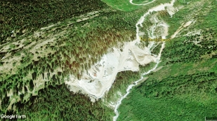 map Yule Marble Quarry, Marble CO9b