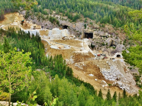 The Newly Re-Born Yule Marble Quarry, Marble, Colorad