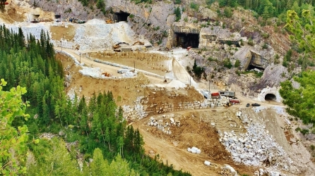 The Newly Re-Born Yule Marble Quarry, Marble, Colorado3