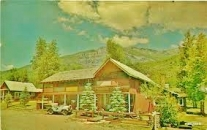 Beaver Lake Lodge and Cabins, Along the Aspen Marble Detour 7 1950s Postcard