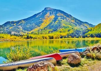 Beaver Lake, Marble Colorado, Along the Aspen Marble Detour 2