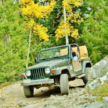 Crystal River Jeep Tours 5, Marble Colorado, Along the Aspen Marble Detour