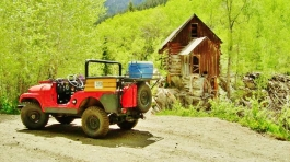 Crystal River Jeep Tours 6, Marble Colorado, Along the Aspen Marble Detour