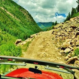 Crystal River Jeep Tours 7, Marble Colorado, Along the Aspen Marble Detour