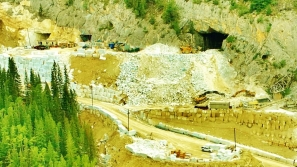 Yule Marble Quarry, Colorado Stone Quarries, new portals, salvage operation 4 (2)