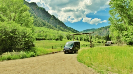 The AMD Bus, Avalanche Outfitters, Redstone, Along The Aspen Marble Detour
