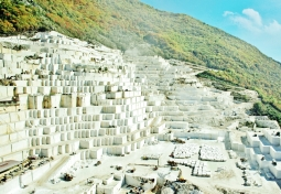 Birros Marble Quarry 5, Pirgon Quarry, near the village of Drama of Northern Greece