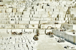 Birros Marble Quarry 3, Pirgon Quarry, near the village of Drama of Northern Greece